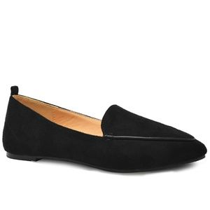 ⭐️ NEW Women Black Suede Flats